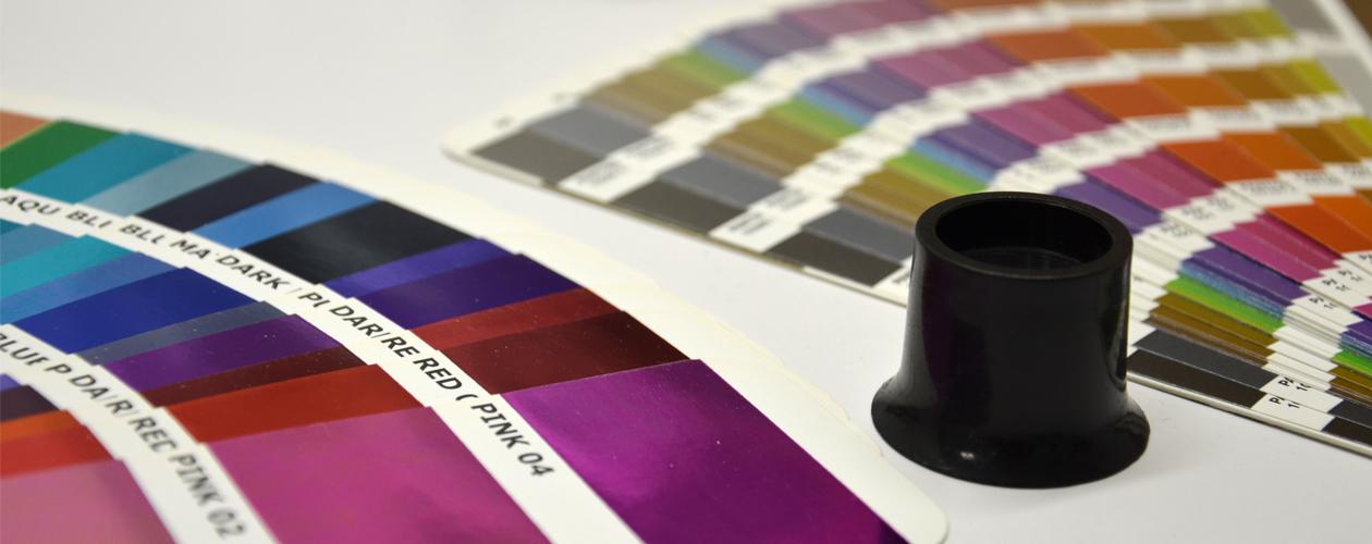 LP-Druck-Qualität Farbsprektrum