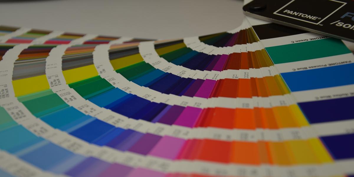 Tampondruck Farbfächer Pantone